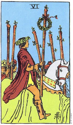 Ý Nghĩa Lá Bài Six of Wands Trong Tarot - Lớp Học Tarot Oracle ...